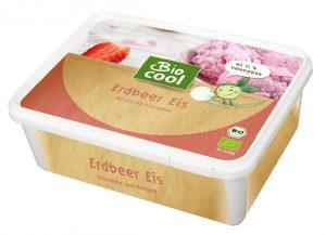 BioCool Erdbeer Eis - Verpackung