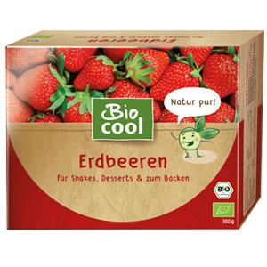 Erdbeeren in der Verpackung von BioCool