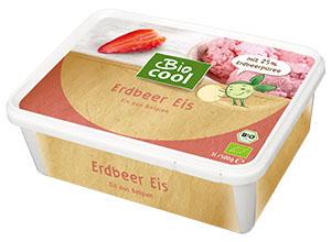 Verpackung Bio Cool Eis Erdbeer