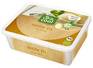 Verpackung Bio Cool Eis Vanille