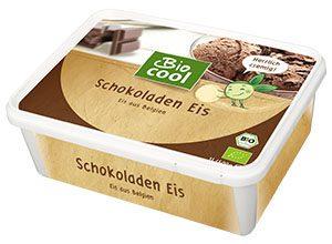 Verpackung Bio Cool Eis Schokolade