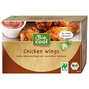 BioCool Chicken-Wings Verpackung