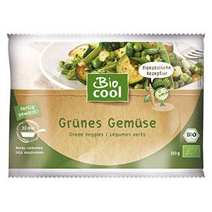 BioCool Grünes Gemüse Verpackung